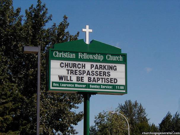 Church sings with a sense of humour