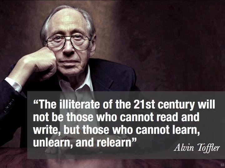 Alvin Toffler futurist